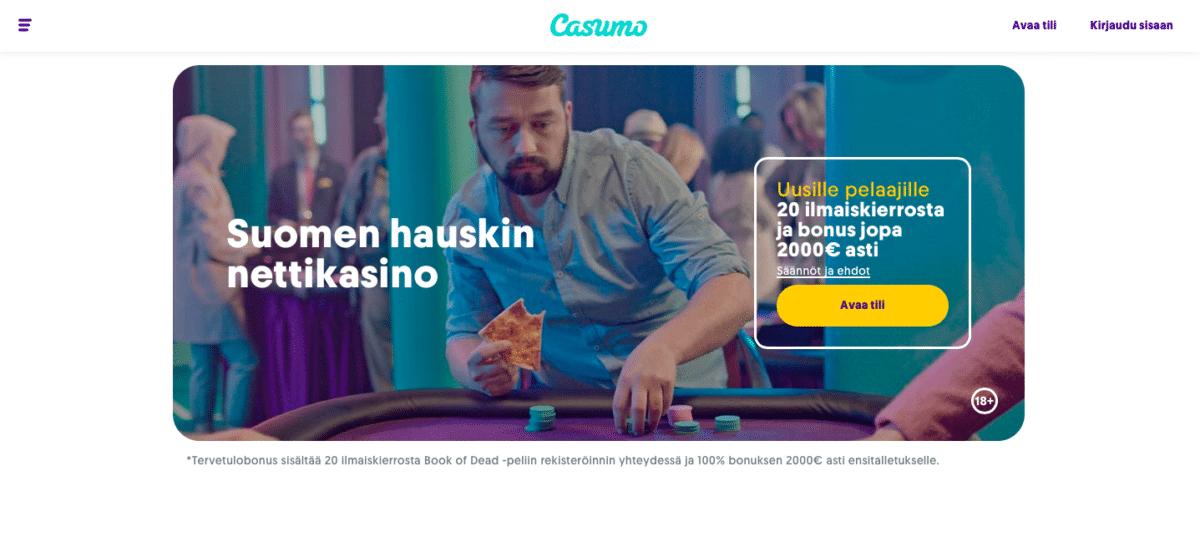 Casumo Casino on nyt myös vedonlyöntiä!