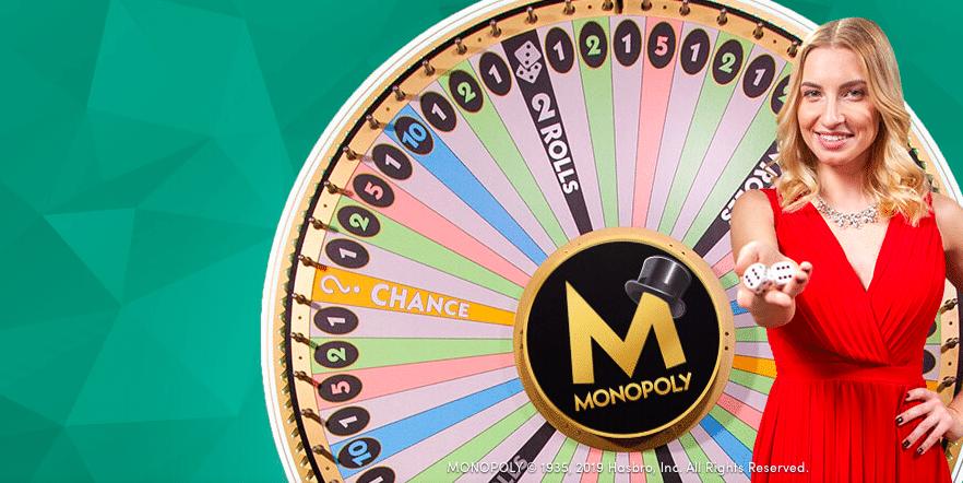 Bonusrahaa Monopoly Live peliin!