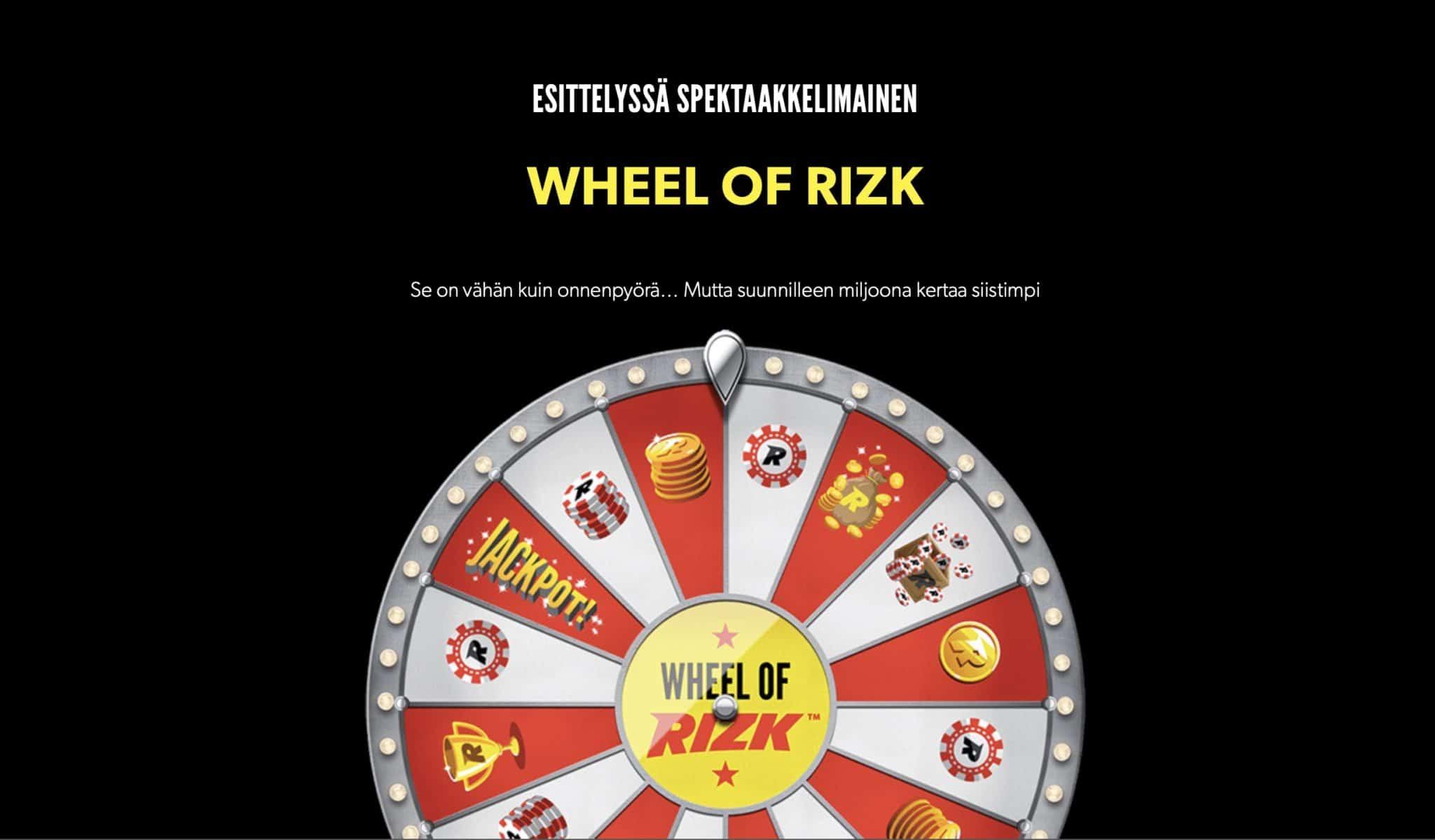 Wheel of Rizk