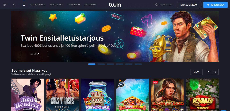 Twin Casino etusivu