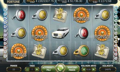 Mega Fortune Jackpot-peli