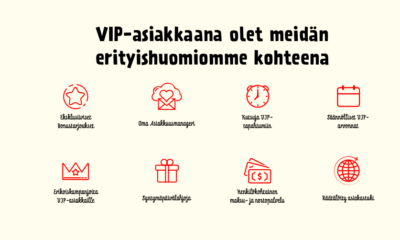 VIP ohjelman sisältö