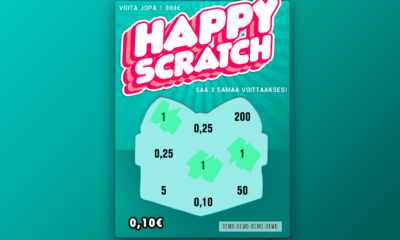 Happy Scratch nettiarpa