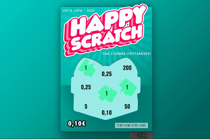 Happy Scratch nettiarpa