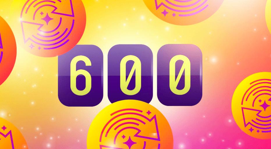 600 ilmaiskierrosta huhtikuussa